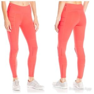 Oiselle • New Portman Pintuck Coral Leggings